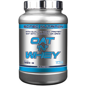 SCITEC Oat and Whey Powder 1380g, Vanilla